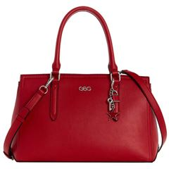Bolso G By Guess Pacific Coast satchel  rojo - Sanborns