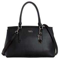 Bolso G By Guess Pacific Coast satchel  negro - Sanborns