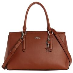 Bolso G By Guess Pacific Coast satchel  café - Sanborns