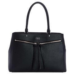 Bolso G By Guess Satchel  negro - Sanborns