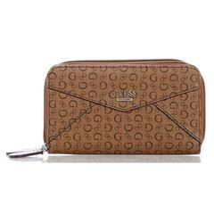 Cartera Guess Zip Around Café Claro - Sanborns