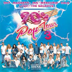 CD2/DVD Varios 90S Pop Tour 3 - Sanborns
