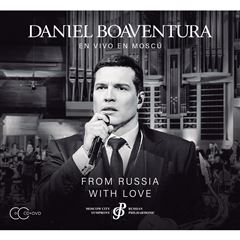 CD+ DVD Daniel Boaventura- From Russia With Love - Sanborns