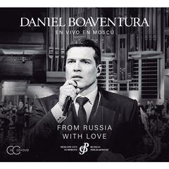 CD+ DVD Daniel Boaventura- From Russia With Love - Sanborns