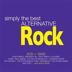 CD2 +DVD Varios Simply The Best Alternative Rock - Sanborns