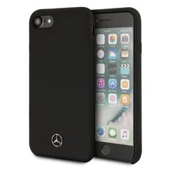 Funda Mercedes Benz iPhone 6/7/8 Negra Silicon - Sanborns