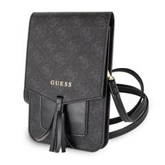 Wallet Bag Cell Phone Negra 4 Guess - Sanborns