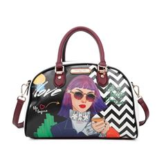 Bolso bowling Nicole Lee Everyday Is My Day - Sanborns