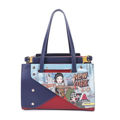 Bolso satchel Nicole Lee New York Drive - Sanborns