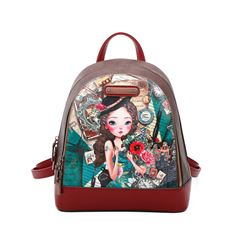 Mochila Nicole Lee Emily Travels Europe - Sanborns