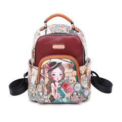 Bolso Back pack Nicole Lee Travels Europe - Sanborns