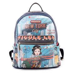 Mochila Nicole Lee New York Drive - Sanborns