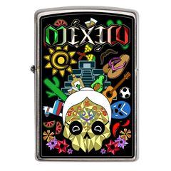 Encendedor Zippo Diseña Tú México Vida Mexicana - Sanborns