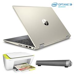 Bundle Laptop 14-CD0009LMLASS HP - Sanborns