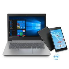 Paquete Laptop Ideapad 330-14AST Lenovo + Tableta + Impresora - Sanborns
