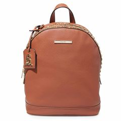 Back pack Steve Madden coñac con estoperoles - Sanborns
