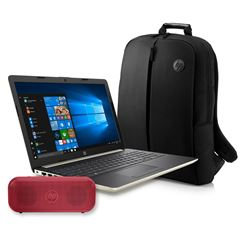 Bundle Laptop HP 15-DB0095LMLASS+ Bocina+ Mochila - Sanborns