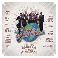 CD La Sonora Santanera - Homenaje a la Música Tropical En Vivo - Sanborns