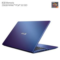 "Laptop ASUS D515UA-BQ049T 15.6"" R5 5th 8G 256SSD Azul - Sanborns"