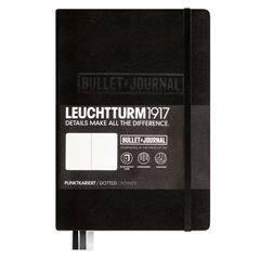 Cuaderno Bullet Journal negro (A5) - Sanborns