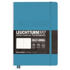 Cuaderno bullet journal notebook medium (a5) azul nordico - Sanborns