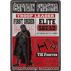 Placa de adorno captain phasma - Sanborns
