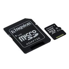 Tarjetas M-SD 64GB C-10 Kingston - Sanborns