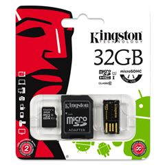 Tarjeta MSD KIT 10G2 32GB Kingston - Sanborns