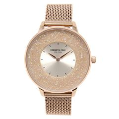 Reloj Kenneth Cole NY Oro Rosa KC51010002 Para Dama - Sanborns