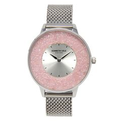 Reloj Kenneth Cole NY Plata KC51010003 Para Dama - Sanborns