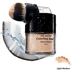 Polvo Compacto Colorstay Aqua Mineral Make Up Light Medium Revlon - Sanborns