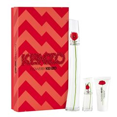 Set para Dama Flower by Kenzo Eau De Parfum 100ml + travel spray 15ml + crema perfumada 50ml  Kenzo - Sanborns