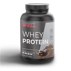 Proteína sabor chocolate (Whey Protein) Comfort Well - Sanborns