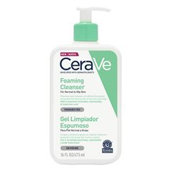 Cerave Gel Limpiador Espumoso 16 oz / 473 ml - Sanborns