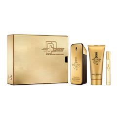 Set para caballero, Paco Rabanne, 1 Million, EDT 100 ml + shower gel 100 ml + Travel spray 10 ml - Sanborns