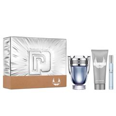 Set para Caballero Paco Rabanne Invictus EDT 100ML + Gel de ducha 100ML + Spray de viaje 10ML - Sanborns