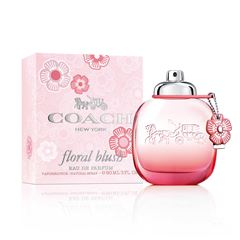 Fragancia Para Dama CO Coach Floral Blush EDP 90ml - Sanborns