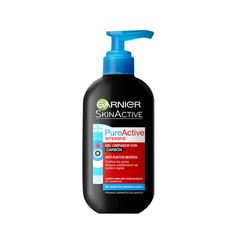 Gel Limpiador Facial Carbón Pureactive Garnier 200 ml - Sanborns