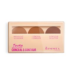 Rimmel London, #Insta Conceal & Contour Paleta de Sombras 010, light, 9 g - Sanborns