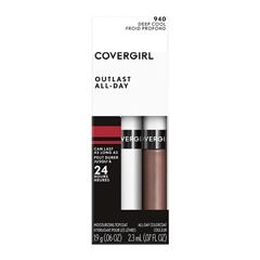 Labial líquido Covergirl Outlast All Day 940 Deep Cool - Sanborns