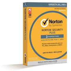 Anti Virus Norton Security Plus 3 - Sanborns