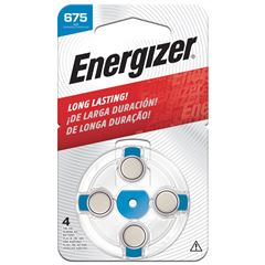Pila Energizer Especializada Auditiva Ha 675 C/4 - Sanborns