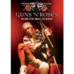 DVD Guns N' Roses-Welcome To The Jungle Live In Brasil - Sanborns