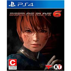 PS4 Dead or Alive 6 - Sanborns