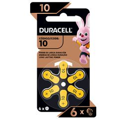 Pila Duracell Auditiva 10 C/6 - Sanborns