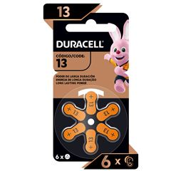 Pila Duracell Auditiva 13 C/6 - Sanborns