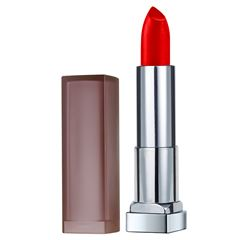 Labial Matte Color Sensational Maybelline 690 Siren Scarlet - Sanborns