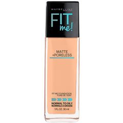 Base de Maquillaje Fit Me Matte Maybelline 220 Natural Beige - Sanborns