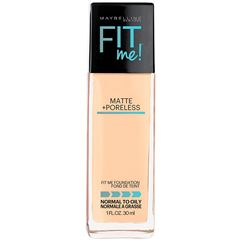 Base de Maquillaje Fit Me Matte Maybelline 128 Warm Nude - Sanborns