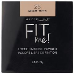 Polvo de maquillaje Fit Me! Loose Powder de Maybelline, Tono Medium - Sanborns